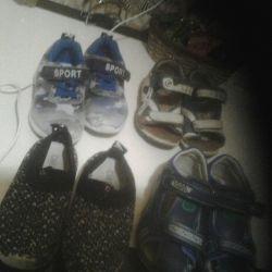 Взуття віддам за 3 кіндеоа