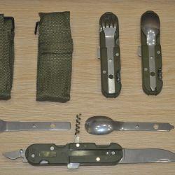 Походный нож 5 в 1
