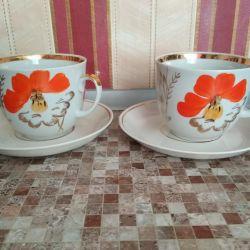 Çay çiftleri, 4 adet