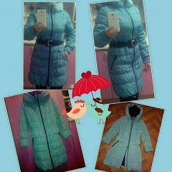 Kapüşonlu pelerin ceket