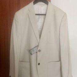 Πωλούν ένα ολοκαίνουργιο λευκό σακάκι μόδας