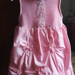 Платье р. 110 на флисе