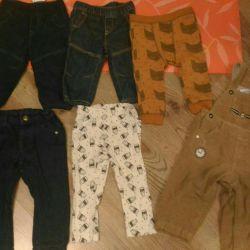 Pants jeans size 74