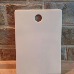 Kitchen cutting board made of stone, new.