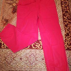 Yazlık pantolon, pamuk, 52