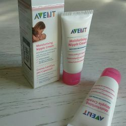 Cream from cracks for breast Avent