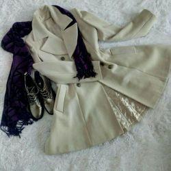 Пальто стильное 44-46