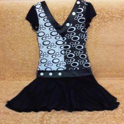 Μαύρο και άσπρο φόρεμα (Λευκορωσικά πλεκτά)