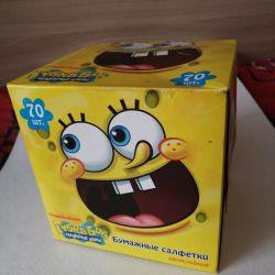 Napkins Sponge Bob
