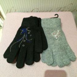 New women's warm gloves