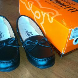Moccasins school 31 size new