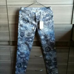 Stretch trousers, Italy.