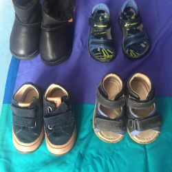 Footwear for children .