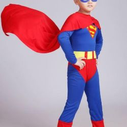 """Suit """"Superman"""" size 100 (for height 90-100 cm)"""