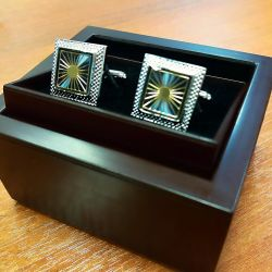 Kol Düğmeleri ETERNA (Gümüş)