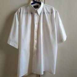 Men's white shirt XXL (56-58).