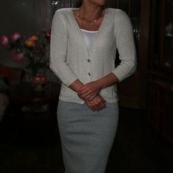 Cardigan with lurex r.44 sweater
