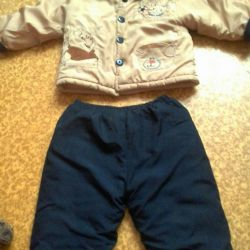 Suit for the boy spring-autumn