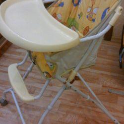 çocuk sandalyesi