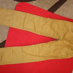YENİ KIABI kot pantolon, yaz, hafif. 140 cm