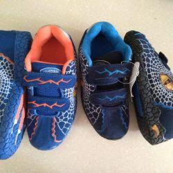 Spor ayakkabı dinozorlar 3d