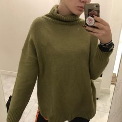 Khaki new one-size sweater