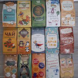 Gift tea coffee honey