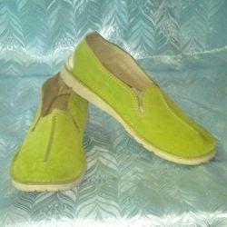 Moccasins ve sandaletler. RR 35