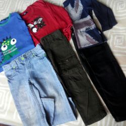 P2-3g. Boy's clothes