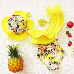 Swimsuit + Panama for 3-4 years. New.