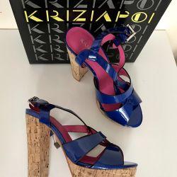 New sandals Krizia Poi 35 p