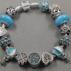 Bracelet in the style of Pandora 0527