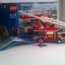 LEGO İtfaiye aracı pazarlığı tasarımcısı