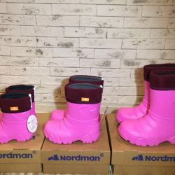 New Nordman boots for girls