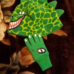 H & m polar dinozor şapka