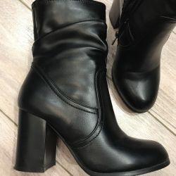 Încălțăminte din piele pentru încălțăminte (jumătăți de cizme)