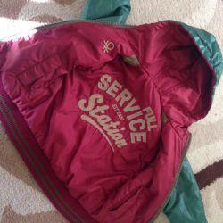 Jacketul lui Benneton