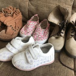 Shoes for Girls, 22, 26, 27