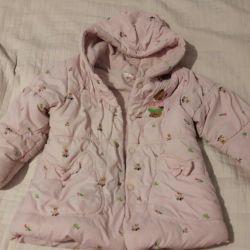 3-4 years jacket warm