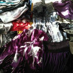 Πακέτο γυναικείων ενδυμάτων (φορέματα, μπλούζες, σορτς, φούστες)