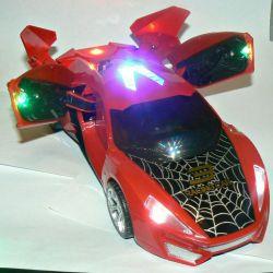 Baterie acționată cu baterii - lumină, sunet, acționează, se rotește