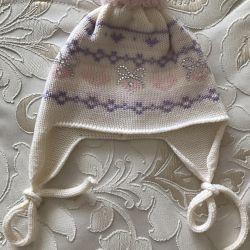 Hat pentru fata Catya (Italia), 100% lână