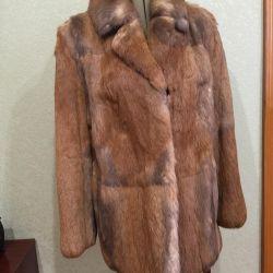 Tavşan Kürklü Ceket