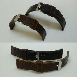 Making straps for wristwatches from nature