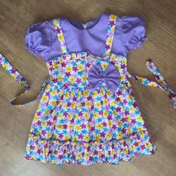 Платье сарафан 2-3 г