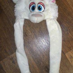 Christmas hat masquerade lamb