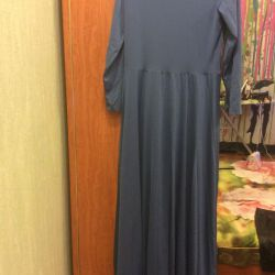 Dress in the floor new color blue