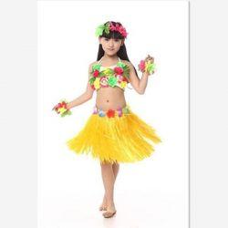Χαβάη φούστα, βραχιόλι, χάντρες