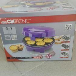 Νέο μηχάνημα για την παρασκευή muffins, cupcakes