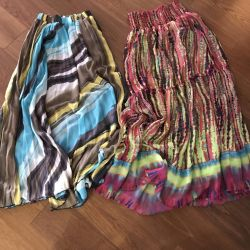Summer skirts to the floor (blue sold)